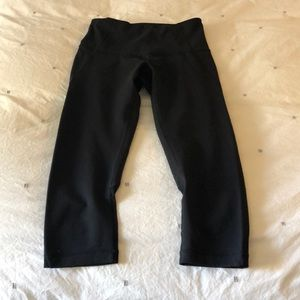 Zella high waisted live in cropped leggings